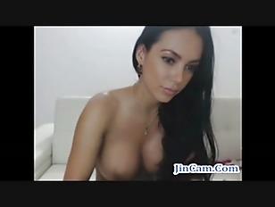 Picture Nice Ass Brunette Masturbates And Fuck Dildo...
