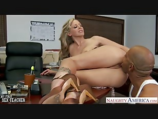 Blonde teacher Julia Ann fucki