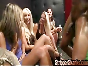 Picture Wild Chicks Cutting Loose At The Strippers