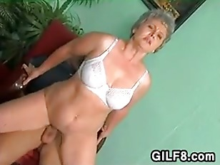Granny With A Naked Pussy Has