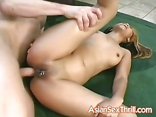 Hot Asian pornstar anal