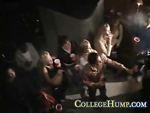Blonde Coed Isnt Camera Shy Or