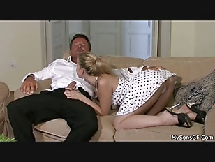 Picture Finding His Blonde Riding Old Man Big Cock