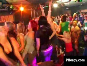 Very drunk babes lose control and fuck at european sex party
