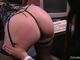 Picture Little Bitch Gets Spanked On Desk