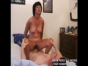 Granny likes it in the ass