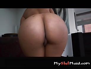 Big Booty Latina Maid p2