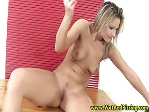 Piss fetish babe drinking piss