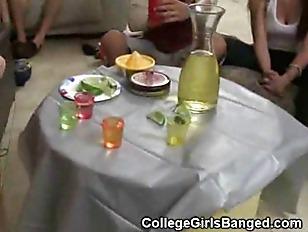 Three College Girls Get Oral T