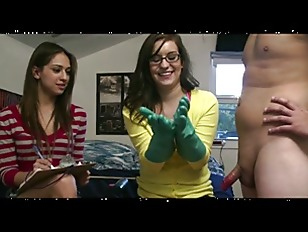 Amateur college girl give guy