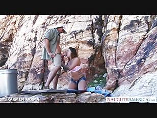 Picture Tattoed Babe Karmen Karma Fuck Outdoors