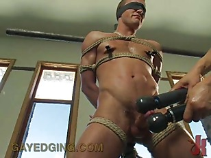 Kink Superhero Gets Edged