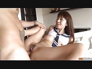 Japanese Schoolgirl Gets Naughty
