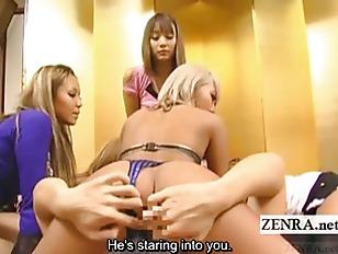 Subtitled Japan gyaru harem fi