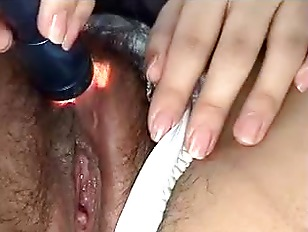 Picture My Hairy Wife E Masturbating Again