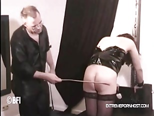 Caned by my master