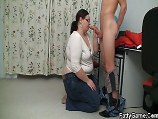 Picture Naughty Chubby Teacher Lures Him
