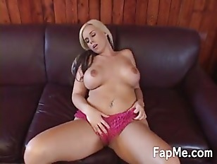 Busty girl with a juicy pussy