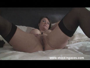 Picture Stocking Milf Magic Wands Herself
