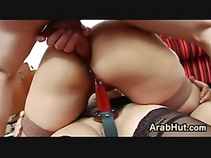 Picture Arab In Stockings Fucks After Work