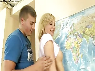 Picture Nice Faced Blonde Girl Fucking