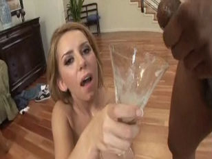 A cup of cum for Allie