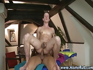 Ass fucking gay masseur hunk