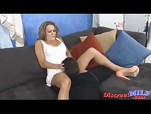 Picture MILF Surprised By Neighbor And Fucked Hard