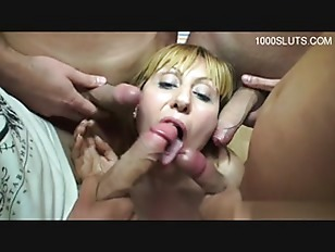 Horny milf creampie accident