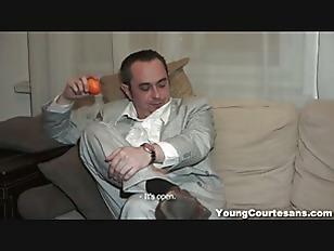 Young Courtesans - Courtesan pussy creampied