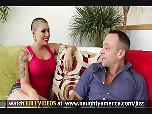 Busty Eva Angelina gets her ba