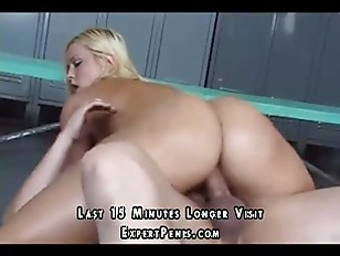 Picture Blonde Rides A Big Fat Cock
