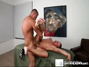 Man Handled By Gay Muscles