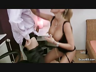 Picture German Milf Secretary Fucking With Her Boss...