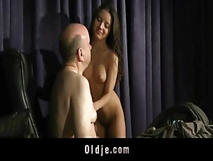 Anita seduces to fuck her old