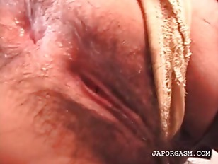 Asian Cutie Fingered Gets Hair