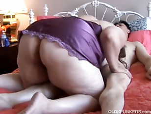 BBW Enjoys A Long Hard Fuck