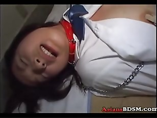 Picture Japanese Babe Hogtied Sucking Cock And Getti...
