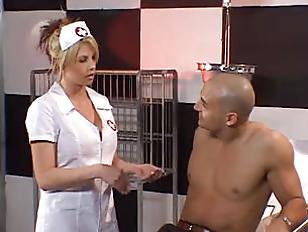 Hot nurse with big tits
