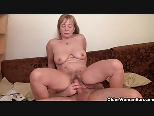 Milf is made for unloading cocks