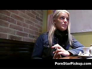 Cock in the Coffee Shop