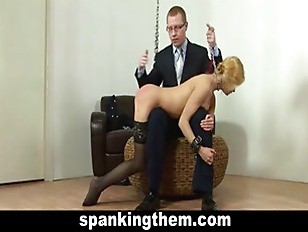 Spanking punisment for sexy bl