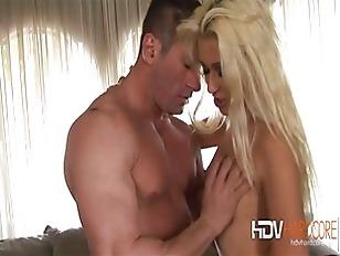Blonde Cindy Crawford Hardcore