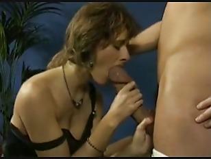 redhead stocking slut get cum