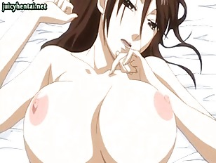 Big tited anime getting slammed