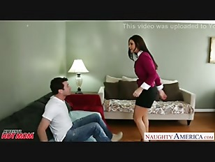 Small titted mom India Summer