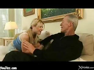 Picture Young Girl 18+ Babysitter Fucks Grandpa