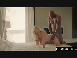 BLACKED First Interracial for