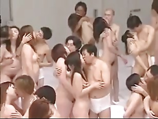 Big Group Sex Orgy
