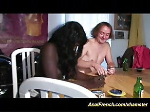 french chocolate babe gets dicks in asshole